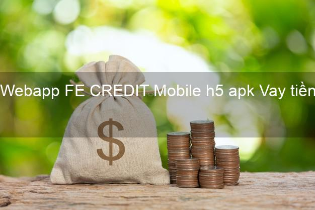 Webapp FE CREDIT Mobile h5 apk Vay tiền