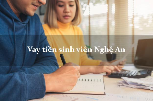 Vay tiền sinh viên Nghệ An