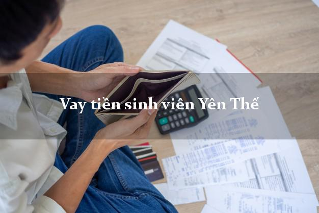 Vay tiền sinh viên Yên Thế Bắc Giang