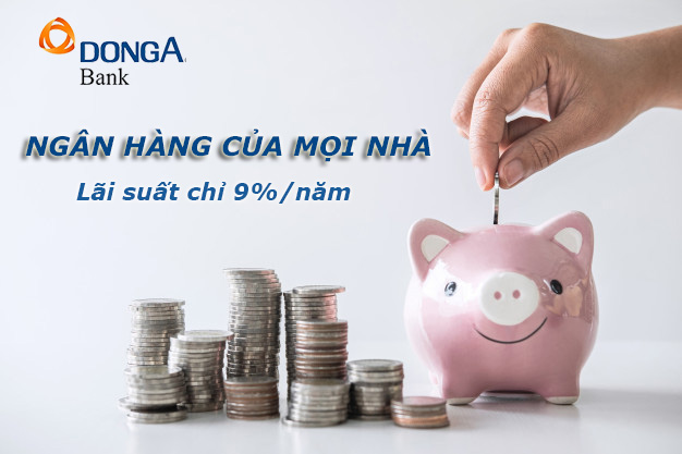 Hướng dẫn vay tiền ngân hàng Đông Á online